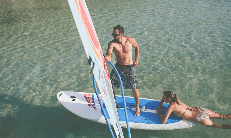 Windsurfing & Sailing in Fiji at Turtle Island Resort, Fiji