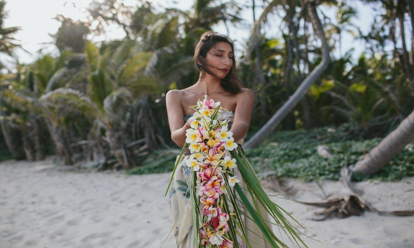 Fiji Weddings - Bride at Turtle Island