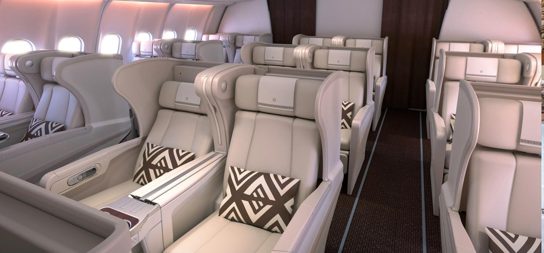 Fiji Airways Business Class Seat